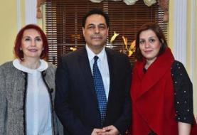 همسر نخستوزیر لبنان جنجال آفرید