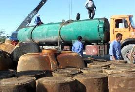 حمل قاچاق ۲۴ میلیون لیتر سوخت با اسناد گمرکی جعلی
