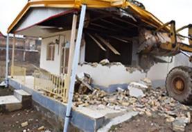 تخریب ۲۲ مورد ساختوسازهای غیرمجاز در اراضی کشاورزی
