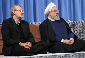 روحانی: خاطرات همکاری و احساس مشترک من با دکتر لاریجانی ماندگار خواهد بود