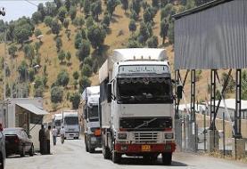 صادرات ۸۹ میلیون دلاری کالا از مرزهای آذربایجان غربی