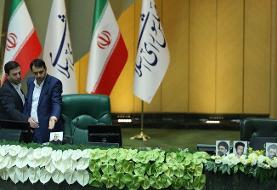 آغاز رسمی اولین جلسه مجلس یازدهم / استقرار تقوی در جایگاه رئیس سنی مجلس