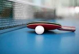 اهدای کاپ قهرمانی لیگ برتر تنیس روی میز به پتروشیمی بندرامام