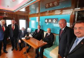 (تصاویر) اردوغان جزیره دموکراسی و آزادی را افتتاح کرد