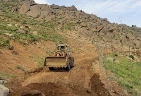 منابع طبیعی مجوزی برای جادهکشی در کوه الوند صادر نکرده است