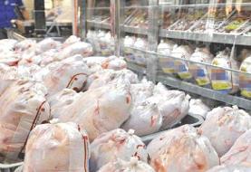 ذخیرهسازی ۴۸۰ تن مرغ منجمد