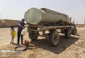 ورود بسیج سازندگی استان خوزستان برای رفع مشکل غیزانیه اهواز
