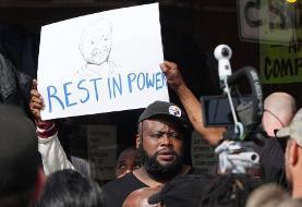 (تصاویر) جنجال در آمریکا درپی قتل یک سیاهپوست توسط پلیس