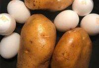 تخم مرغ را به همراه سیب زمینی بخورید