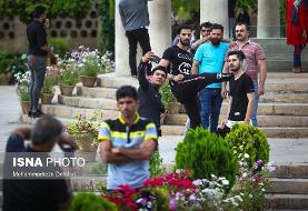 (تصاویر) بازگشایی حافظیه شیراز
