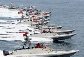 رونمایی سپاه پاسداران از 'قایقهای تندروی موشکانداز' در آبهای جنوب ایران