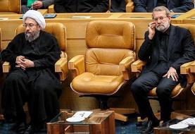 پیام آملی لاریجانی به قالیباف و علی لاریجانی