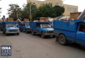 ویدئو / توزیع جهیزیه در رزمایش کمک مؤمنانه یزد