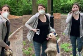 The man who filmed his encounter with a woman in Central Park says her actions were ...