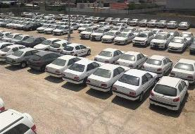 کشف بیش از ۲۳۰۰ خودروی احتکار شده از سوی پلیس امنیت اقتصادی
