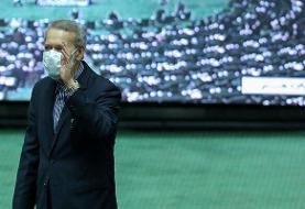 واکنش علی لاریجانی به انتخاب قالیباف به عنوان رئیس مجلس یازدهم