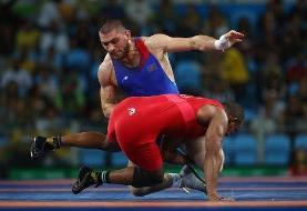 قهرمان کشتی المپیک کرونا گرفت