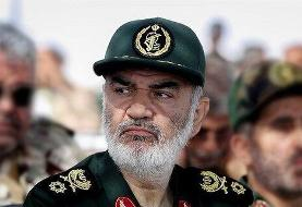 سرلشکر سلامی به قالیباف تبریک گفت
