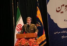 وزیر دفاع: کمربند امینت خلیج فارس و بویژه تنگه هرمز محکمتر میشود