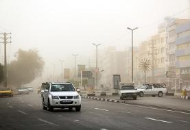 وزش باد شدید و ایجاد گرد و خاک در غرب و شرق کشور