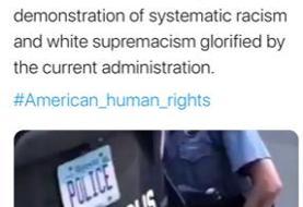 موسوی: تقدیر دولت کنونی آمریکا از نژادپرستی و سفیدبرترپنداری سیستماتیک