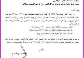تخصیص ۳۱ هزارمیلیارد تومان اعتبارات عمرانی در هفته اول خرداد