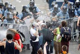 شورش در مینیاپولیس؛ ترامپ: ارتش را اعزام میکنم | مقر پلیس در آتش سوخت