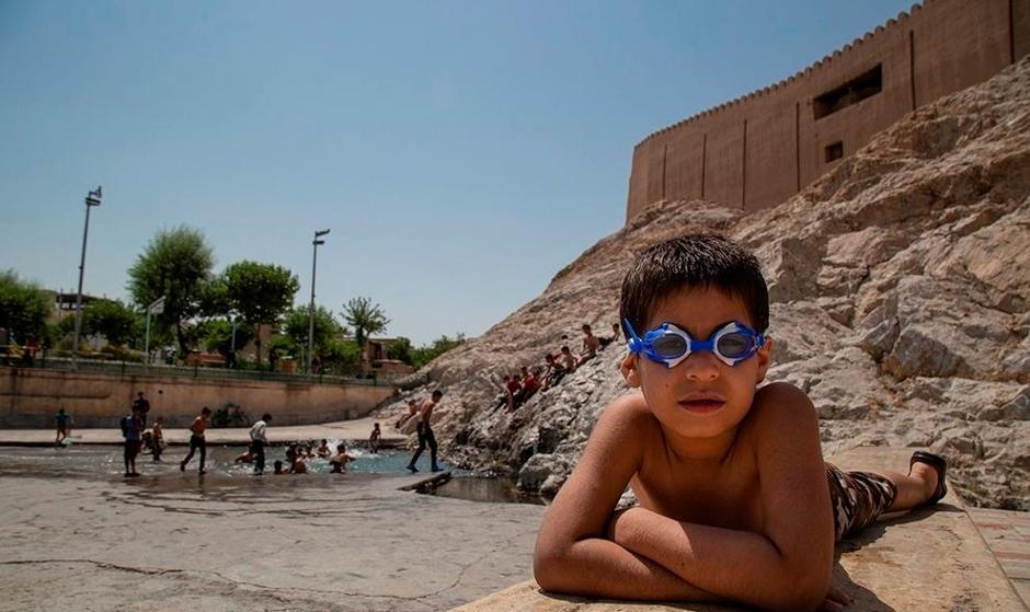 تصاویر: «چشمه علی» استخر پنج ستاره اهالی مستضعفین جنوب تهران شد!