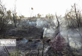 پیگیری دریافت تجهیزات و بالگرد برای مهار آتش در خائیز ادامه دارد