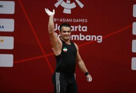 تمدید مسابقات انتخابی المپیک وزنهبرداری به نفع سهراب مرادی شد