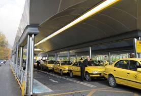 نصب برچسبهای دو نرخی در تاکسیهای پایتخت