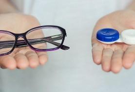 ایمنی عینک و لنز تماسی در دوران شیوع کرونا