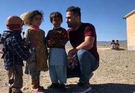 تقدیر جردن باروز از اقدامات انساندوستانه حسن رحیمی