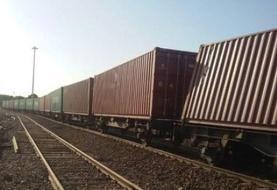 چند واگن یک قطار باری از خط خارج شد