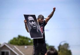 عکس روز| اعتراض به مرگ جرج فلوید