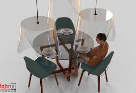 خلاقیتی برای رستوران ها در دوران کرونا (+تصاویر)