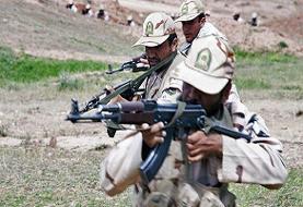 درگیری مسلحانه مرزبانان ایرانی با اشرارمسلح