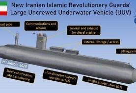 فوربس: ایران به ناوگان نخبگان زیردریاییهای بدون سرنشین پیوست