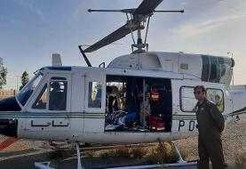 تصادف شدید در بزرگراه آزادگان/ اعزام مصدومین سوختگی با بالگرد