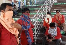 کمبود تختهای بیمارستانی در بمبئی