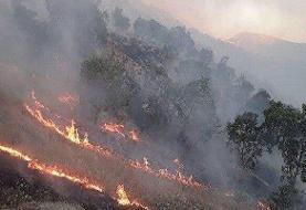 آتش در خائیز دوباره شعلهور شد | تقاضای ملتمسانه از مردم  و اعزام بالگرد امدادرسان