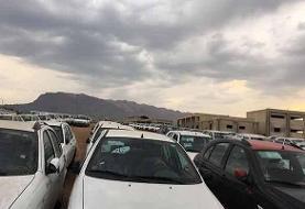 کشف ۱۷۷ خودروی احتکاری خارجی و داخلی در شرق تهران