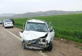 تصادف در کهگیلویه و بویراحمد یک کشته و ۳ زخمی به جا گذاشت