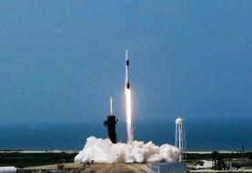 پرتاب موفق اسپیسایکس | سفینه دراگون با دو فضانورد به مدار زمین رسید
