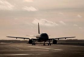 فرود اضطراری هواپیما در فرودگاه مهرآباد