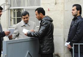 اقدام عجیب احمدینژاد در محله نارمک!