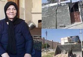 جزئیات مرگ «آسیه پناهی»: اسپری فلفل به صورتش زدند / لباس نوه اش را درآوردند و کتک زدند