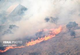 آتشسوزیهای وسیع در ۳ منطقه اطفاء شده است/ ۲ منطقه هنوز در آتش میسوزند