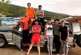 (تصاویر) تفریح دستهجمعی فوتبالیستها در اوج کرونا