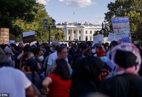 اعتراضات آمریکا؛ ترامپ به
